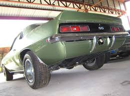 1969 camaro rear spoiler 1969 chevrolet camaro ss 396