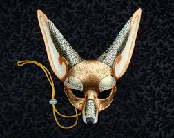 venetian bird mask options for a mask wedding venetian fennec fox mask v2 by