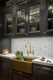 Black Kitchen Cabinet Ideas by Best 25 Upper Cabinets Ideas On Pinterest Navy Kitchen Cabinets