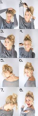 easy messy buns for shoulder length hair 21 easy messy bun tutorials for the perfect disheveled look gurl