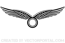 wings logo design vector free vectors ui