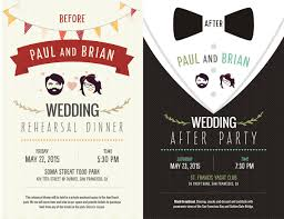 after wedding party invitation wording wedding invitation sample