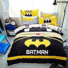Superhero Bedding Twin Aliexpress Com Buy Baby Boys Batman Bedding Set Kids Superman