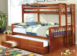 twin over full bunk bed with trundle and stairs queen gray all the