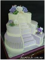 wedding cakes with fountains wedding cakes with fountains and stairs lovetoknow