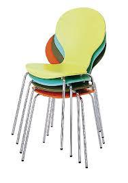 chaises cuisine couleur chaise fly tulip objet déco déco