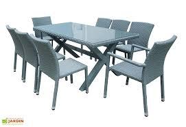 canapé jardin résine salon de jardin résine tressée 1 table 2 fauteuils 6 chaises