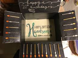 birthday care package birthday ideas for army boyfriend image inspiration of cake and