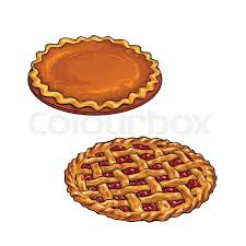 cherry and pumpkin pie traditional thanksgiving