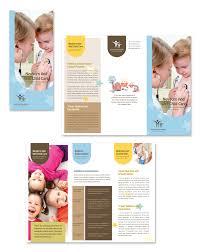 nutrition brochure template child care specialists tri fold brochure template dlayouts