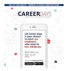 career days guide 2017 by arizona daily wildcat issuu