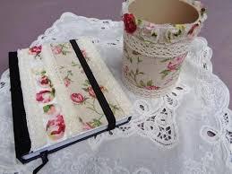 bureau style romantique set de bureau style romantique carnet et pot à creations