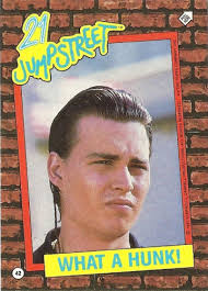 trading card set of the week dreamboat johnny depp special