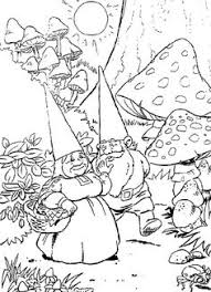 gnomes coloring pages david gnome coloring pages