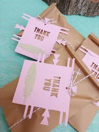 boho chic favor tags set of 12 gold glitter feather thank you