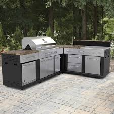 kitchen astonishing outdoor kitchen kits lowes master forge 3