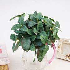 1 bundle artificial plant leaves vases for decoration for