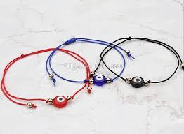 red bracelet with eye images Turkish lucky evil eye bracelets handmade braided rope lucky jpg