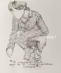 fa bts love yourself ink sketches army u0027s amino