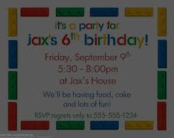 kids birthday invitations templates invitations horizontal writing