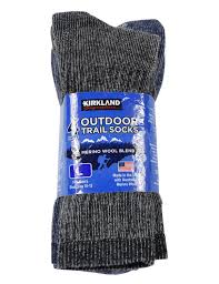 Kirkland Signature Patio Heater by Kirkland Signature Men U0027s Outdoor Trail Socks With Merino Wool