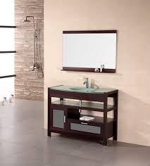 naples 43 u2033 single sink vanity set in cherry design element