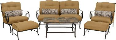 oceana 6 piece outdoor conversation set w deep seat cushions
