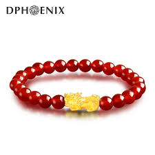 gold lucky bracelet images Diamond phoenix gold bracelet men and women gold 3d hard gold jpg