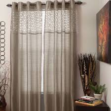 tanzania polyester rod pocket sheer single curtain panel