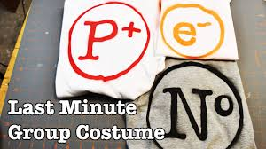 diy last minute family friendly halloween group costume quick