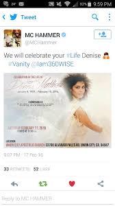 Where Is Vanity Now Denise Matthews Denise Matthews Aka Vanity Passed Away Today Page 24 Lipstick