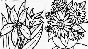 fiori disegni i disegni di fiori da colorare e stare
