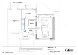 gallery tni building designs garage side extension proposed plan