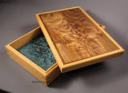 creative woodworking at wooden box maker