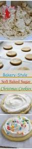 bakery style soft baked sugar christmas cookies recipe