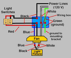 red wire in light switch box wiring a ceiling fan with light one switch how to wire wall and