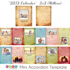 mini calendar template mick luvin photography 2013 mini accordion book calendar template