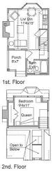 Small Chalet Floor Plans One Bedroom House Plans Home Plans Homepw24182 412 Square Feet