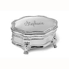 jewelry box favors silver plated princess jewelry box foreverwed supply co