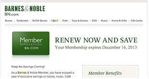Barnes And Nobles Membership Why Did Barnes U0026 Noble Push Up My Membership Renewal Date By 2