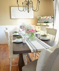 farmhouse spring tablescape