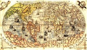 World Map Antique by Vintage World Map Clipart Clipartfest