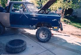 ramcharger prerunner hard top to half top dodge ram ramcharger cummins jeep