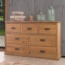 chambre pin massif valet de chambre bois 7 commode en bois 7 tiroirs en pin massif
