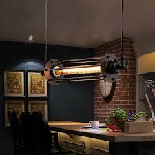 Industrial Kitchen Lighting Fixtures Aliexpress Com Buy Industrial Retro Vintage Flute Pendant Lamp