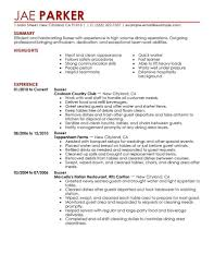 Restaurant Manager Resume Samples Pdf by 49 Bartender Resume Cover Letter For Cv Template Doc