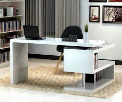 Glossy White Desk by White Single Drawer Desk And Shiny Ikea Office Home Furniture