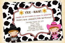 fresh ideas cowgirl birthday invitations u2014 liviroom decors
