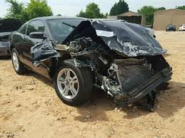 Black Mustang Crash Salvage Ford Mustang For Sale At Copart Auto Auction Autobidmaster