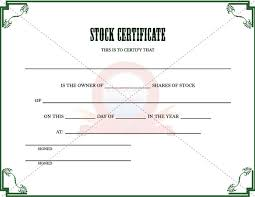 borderless certificate templates 21 stock certificate templates free sample example format
